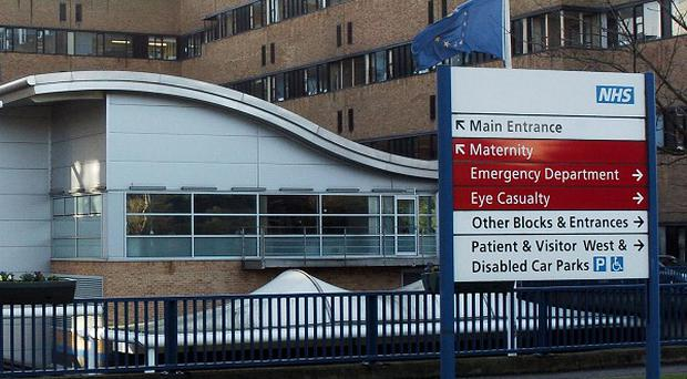 The four-year-old boy who was found injured in a Mansfield street was taken to Queen's Medical Centre in Nottingham