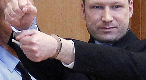 Mass killer Anders Behring Breivik is not criminally insane, according to the latest psychiatric reports (AP)