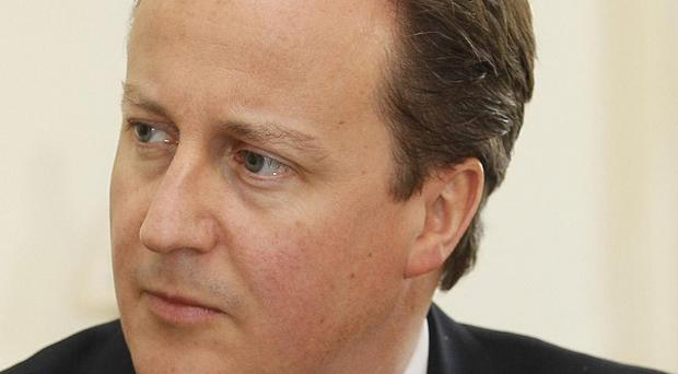 David Cameron says he is relaxed about his financial affairs