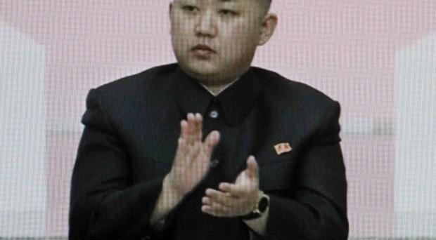 North Korean leader Kim Jong Un has been named first secretary of the ruling Workers' Party (AP)