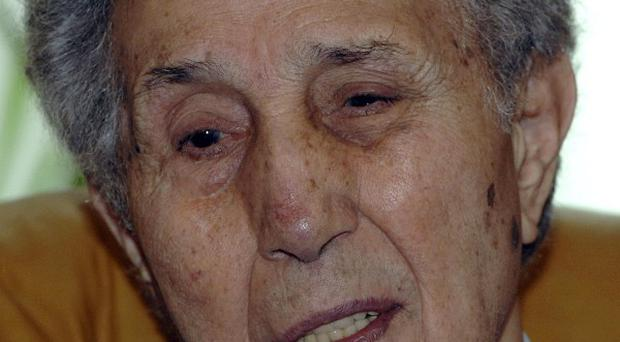 Algeria's first president Ahmed Ben Bella died at his family home in Algiers aged 95 (AP)