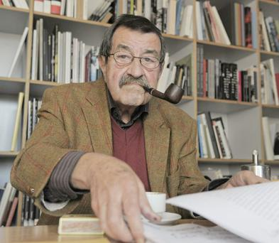 Pipe up: Gunter Grass's poem has provoked a wave of abuse