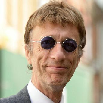 Bee Gees star Robin Gibb is 'fighting' his health problems, according to his son