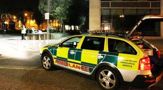 Northern Ireland Ambulance Service as they respond to calls across the greater Belfast area