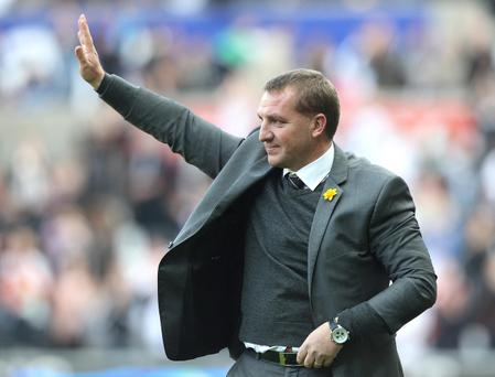 Brendan Rodgers says he feels a strong personal connection to Swansea