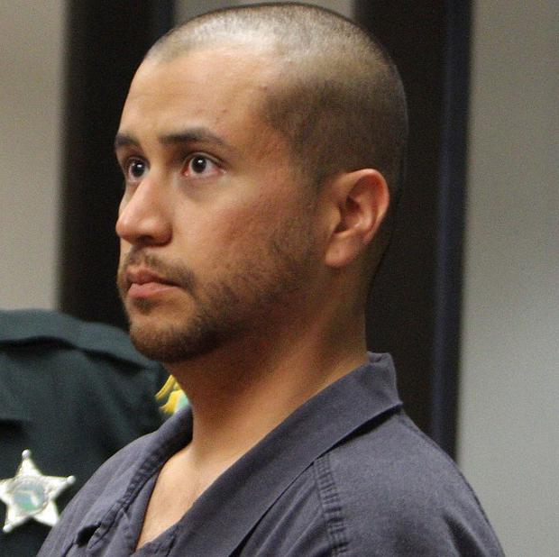 George Zimmerman has made his first court appearance over the death of Trayvon Martin (AP)