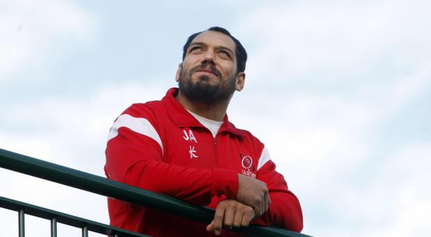 Ulster's John Afoa was handed a four-week ban after being cited for a dangerous tackle on Munster full-back Felix Jones