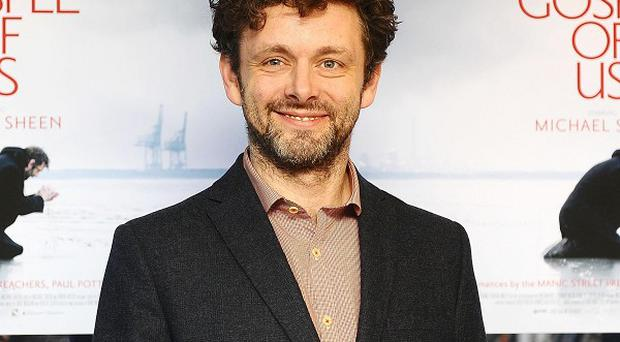 Michael Sheen plays Jesus in his film The Gospel Of Us