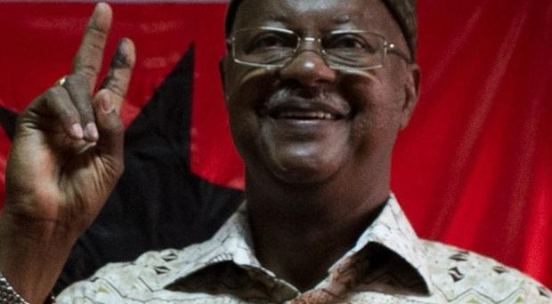 Guinea-Bissau prime minister Carlos Gomes Junior has reportedly been arrested in a coup attempt (AP)