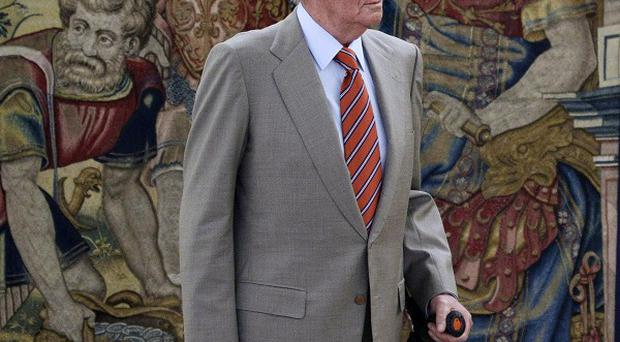 Spain's King Juan Carlos has successfully undergone hip replacement surgery (AP)