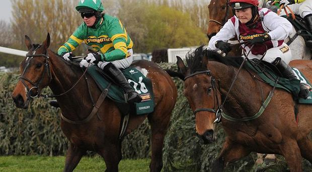 Seabass and Katie Walsh (near) hold every chance at the final fence