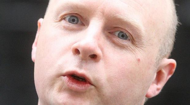 Shadow work and pensions secretary Liam Byrne has claimed the coalition is planning a 'second granny tax'