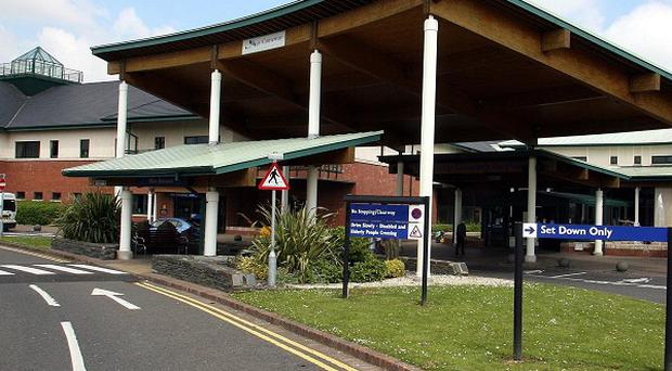 A patient at the Causeway Hospital was one of three people who contracted listeria