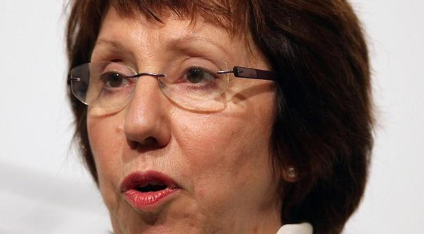 Catherine Ashton called the meeting between Iran and the world's big powers 'constructive and useful' (AP)