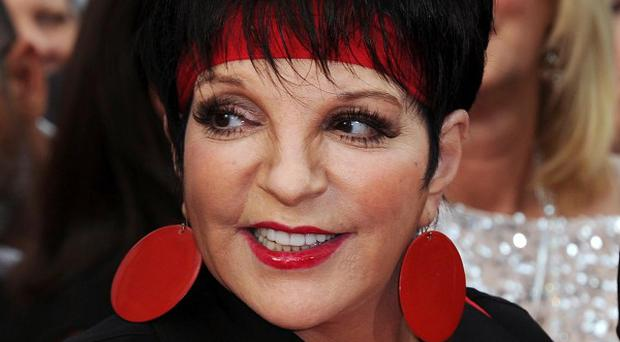 Liza Minnelli walked the red carpet for the 40th anniversary of Cabaret
