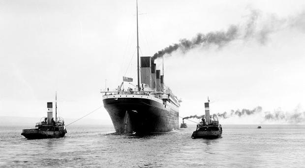 History lessons: the Titanic was thought unsinkable and Brian Faulkner (below) believed the same about government at Stormont