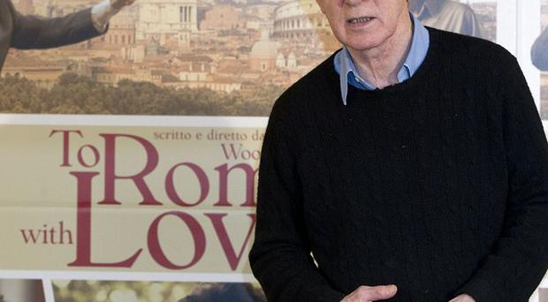 Woody Allen launched To Rome With Love in Rome