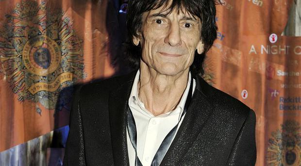 Ronnie Wood is being inducted into America's Rock and Roll Hall of Fame for a second time