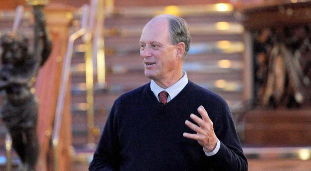 Dr Robert Ballard, the oceanographer who discovered RMS Titanic in its watery grave
