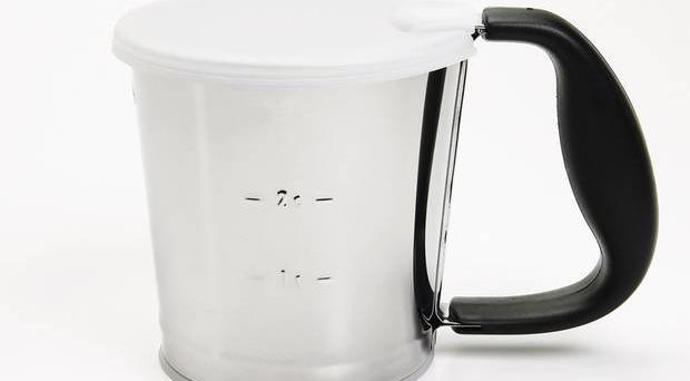 <b>1.OXO flour sifter £9.99, dunelm-mill.com</b> This makes flour sifting easier, faster and less messy. Give it a shake and the sifting mechanism produces perfectly lump-free flour