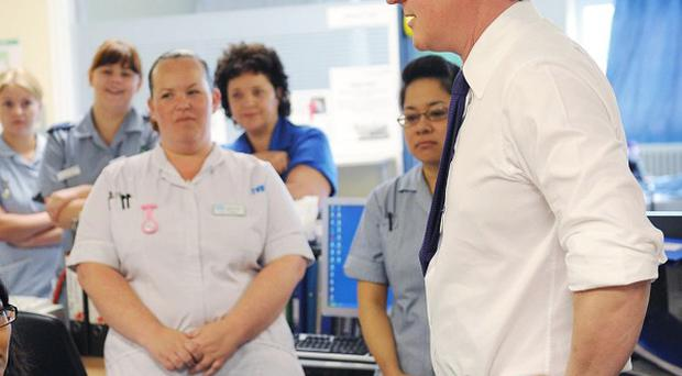 David Cameron says he wants to 'restore a sense of pride' in the nursing profession