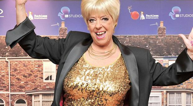 Julie Goodyear will be reprising her Coronation Street role