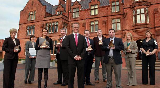 The nominees for this year's Ulster Bank Business Achievers Award
