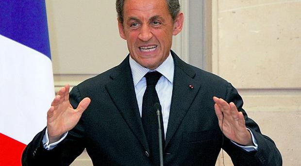President Sarkozy is facing a fight for the Presidency