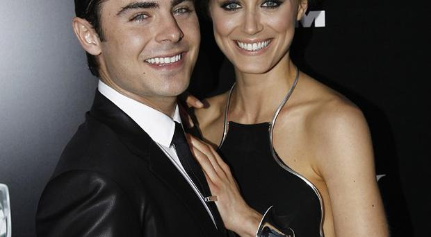 Zac Efron and Taylor Schilling were partners in crime on the set