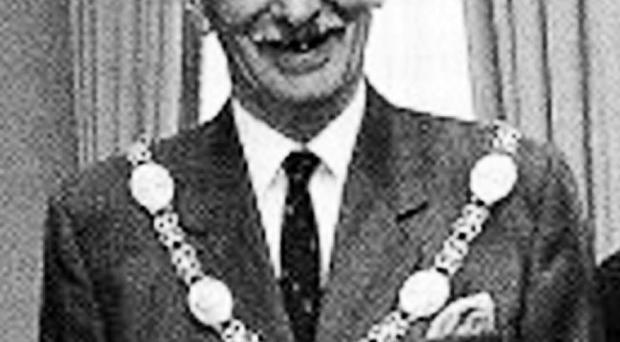 George Macartney serving as Armagh's council chairman