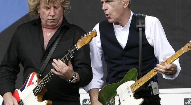 Rick Parfitt, left, and Francis Rossi of Status Quo are making a film