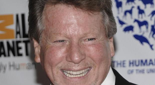 Ryan O'Neal has been diagnosed with prostate cancer (AP)