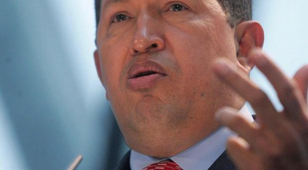 Venezuela president Hugo Chavez rejects Britain's attempts to 'intimidate' Argentina over the Falklands, says minister