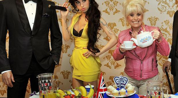 Barbara Windsor reckons Colin Firth and the late Any Winehouse would make the perfect Jubilee party guests