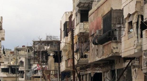Shelling has resumed in the central city of Homs, a Syrian activist group claims (AP)