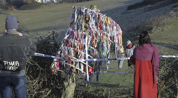 Glastonbury's Holy Thorn tree was originally destroyed by vandals in 2010