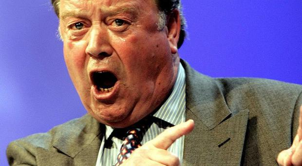 Ken Clarke said the Government is amending legislation to make it easier for domestic violence victims to receive financial support