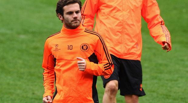 Juan Mata has said Chelsea fans will give Barcelona and uncomfortable night