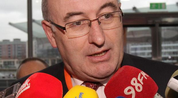 Environment Minister Phil Hogan has confirmed people will not be forced to make up-front payments for the installation of water meters