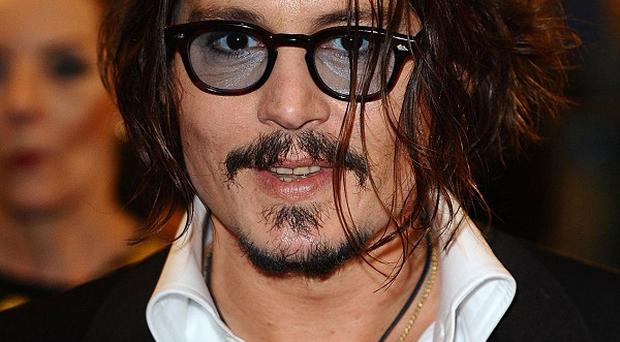 Johnny Depp has been on location for his role as Tonto