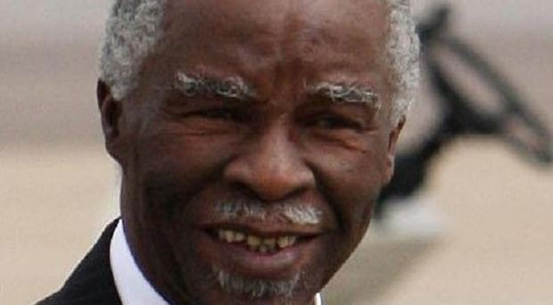 Thabo Mbeki says the UN Security Council should act to stop the fighting between Sudan and South Sudan