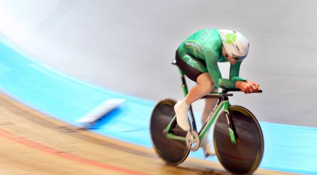 Martyn Irvine says he had no interest in any sport until he was 18