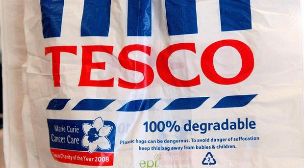 Tesco posted a 1% fall in UK like-for-like sales in its first quarter