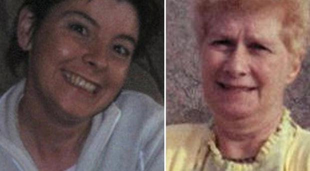 Deirdre McGirr, 38, left, died along with her mother, Elizabeth McGirr, 71, in a fire in a flat at Dunlea Vale, Dungannon, Co Tyrone