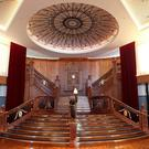 Stepping in: Arlene Foster is demanding an end to the 'distracting' row over the replica Grand Staircase in the Titanic building