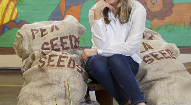 Patsy Kensit is back fronting the Birds Eye peas campaign