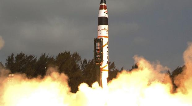India has test launched a new nuclear-capable missile (AP)