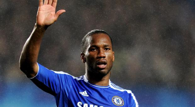 Didier Drogba scored the goal that gives Chelsea a valuable lead going into the second leg of their Champions League semi-final against Barcelona