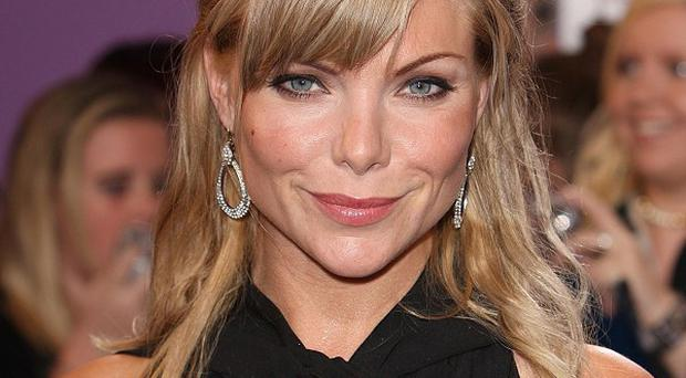 Samantha Womack met Simon Cowell in the US to discuss a Britain's Got Talent judging role
