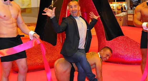 Louie Spence said he would love to return to Dancing On Ice